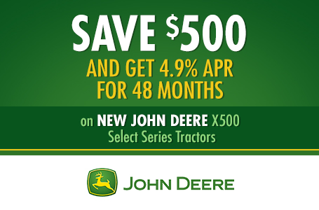 Save $500 AND Get 4.9% APR for 48 Months
