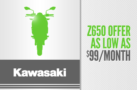 Z650 Offer As Low As $99/Month