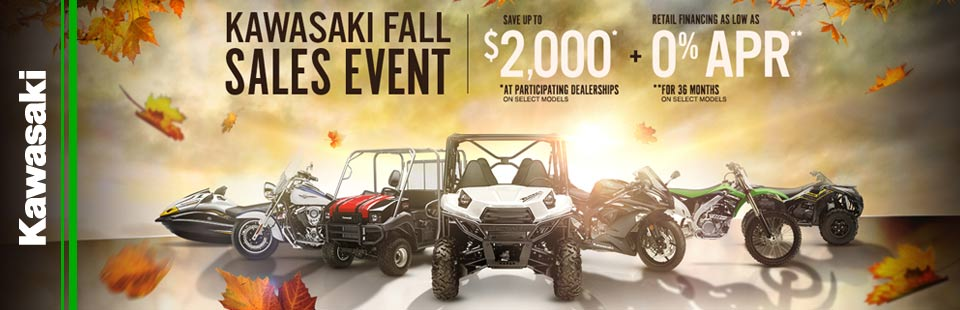 Kawasaki Fall Sales Event