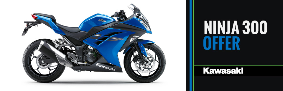 Kawasaki: Ninja 300 Offer