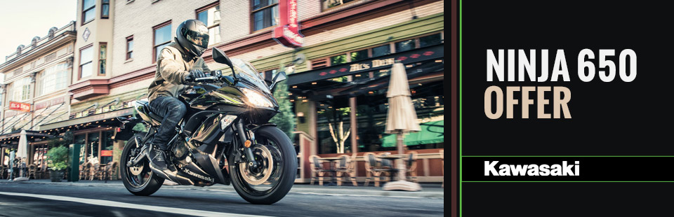 Kawasaki: Ninja 650 Offer