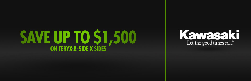 Save Up to $1,500 on Teryx® Side x Sides