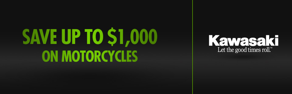 Save Up to $1,000 on Motorcycles