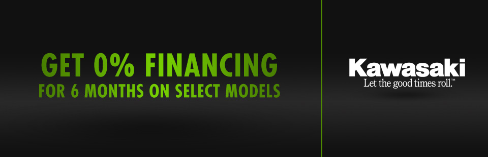 Get 0% Financing for 6 Months on Select Models