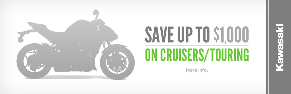 Save Up to $1,000 on Cruisers/Touring