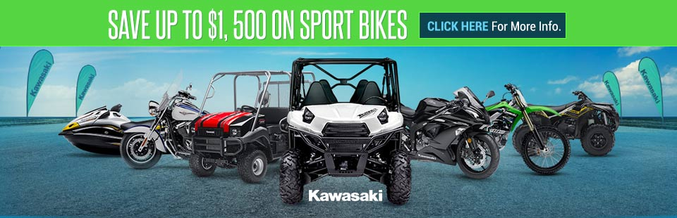 Save Up to $1,500 on Sport Bikes