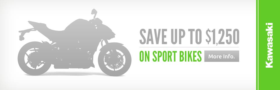 Save Up to $1,250 on Sport Bikes
