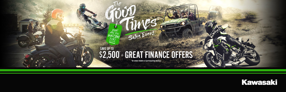 Kawasaki: The Good Times Sales Event