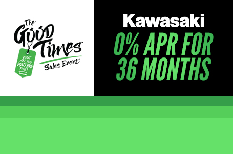 The Good Times Sales Event 0% APR for 36 Months