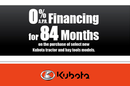 0% APR Financing for 84 Months