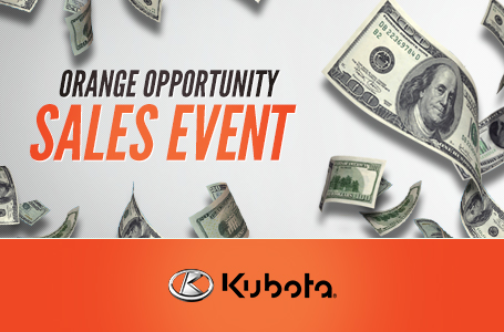 Orange Opportunity Sales Event