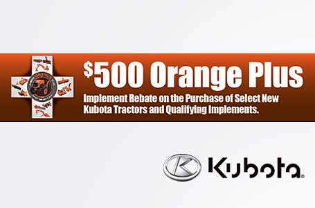 $500 Orange Plus Rebate