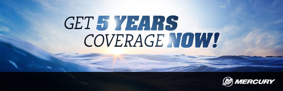 Mercury: Get 5 Years Coverage Now!