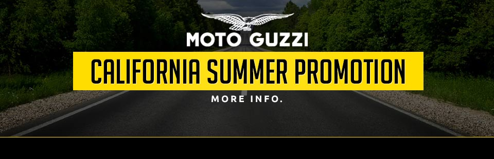 MOTO GUZZI CALIFORNIA SUMMER PROMOTION