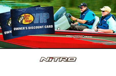 Bass Pro VIP Discount Card with NITRO Purchase