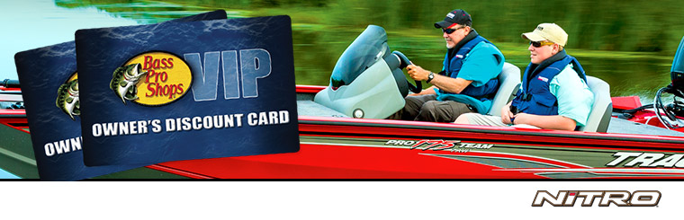 Nitro: Bass Pro VIP Discount Card with NITRO Purchase