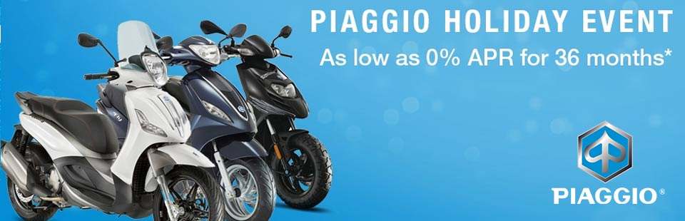 Piaggio Holiday Sales Event