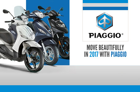 Move Beautifully in 2017 with Piaggio