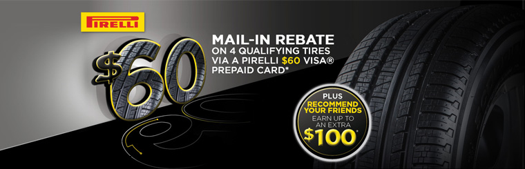 $60 Mail-In Rebate & Recommend Your Friends