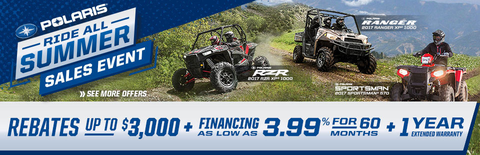 Polaris Industries: Summer Sales Event