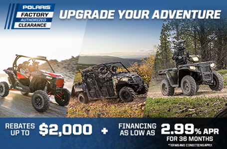 Polaris Factory Authorized Clearance Sales Event