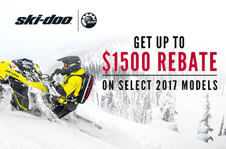 Get Up To $1500 Rebate On Select 2017 Models