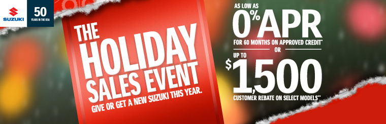 The Holiday Sales Event
