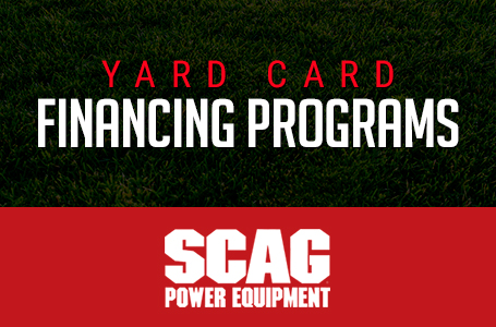 SCAG – Yard Card Financing Programs