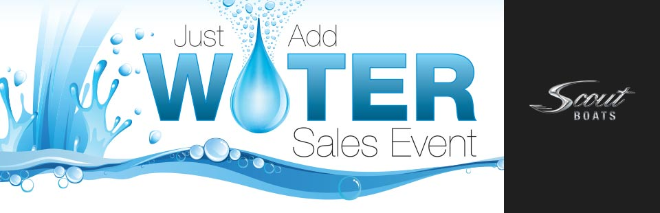Just Add Water Sales Event