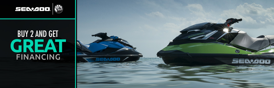 Sea-Doo: Buy 2 And Get Great Financing