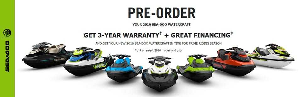 Pre-Order: GET 3-YEAR WARRANTY† + GREAT FINANCING‡