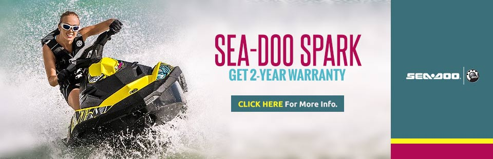 Sea-Doo Spark Two Year Warranty