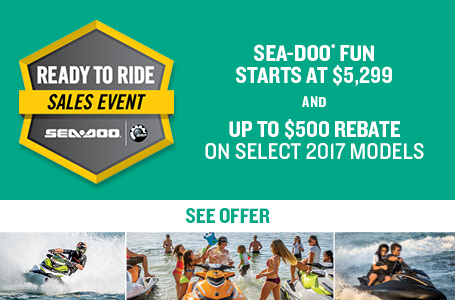 Ready to Ride Sales Event (SEA-DOO)