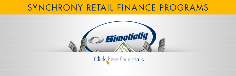 Simplicity: Retail Finance Programs-Synchrony