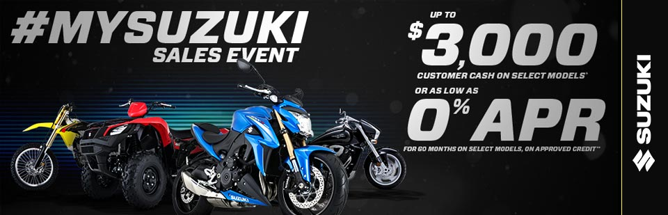 #MySuzuki Sales Event