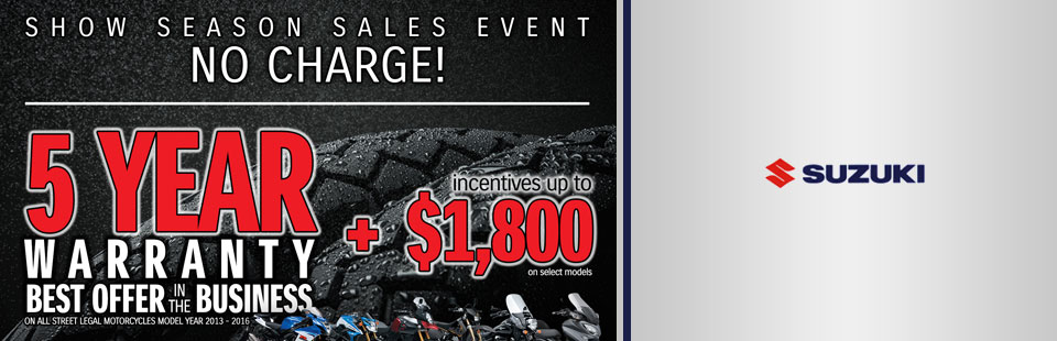 Show Season Sales Event (Motorcycle)