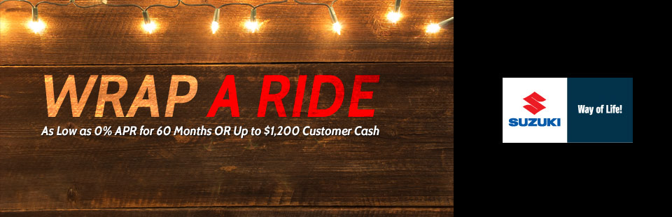Wrap A Ride Holiday Sales Event