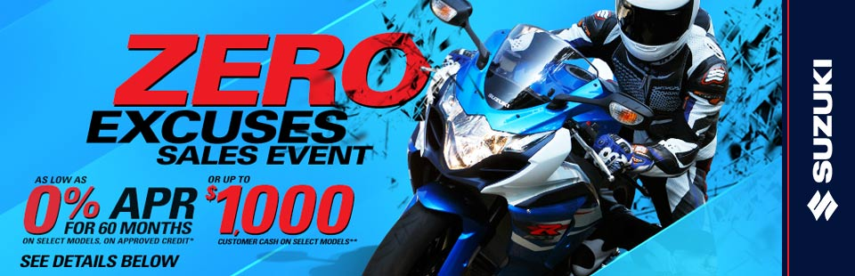 Zero Excuses Sales Event