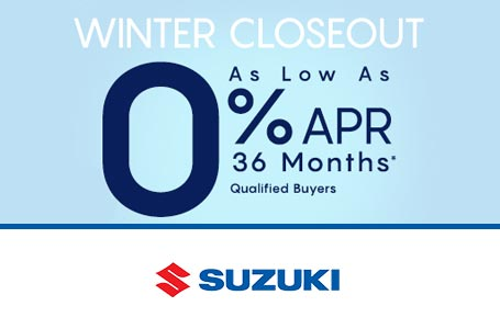 Winter Closeout Sales Event