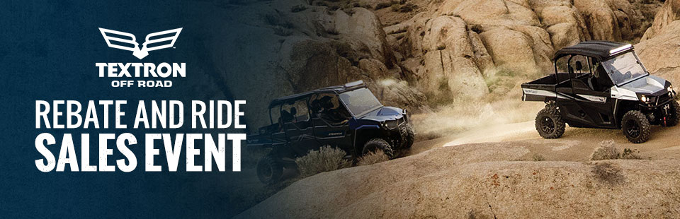Textron Off Road: Rebate and Ride Sales Event
