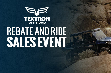 Rebate and Ride Sales Event