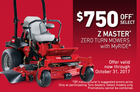 $750 Off Select Z Master