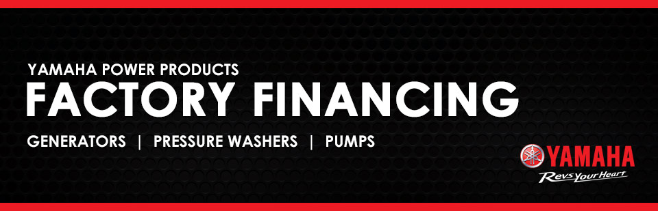Yamaha Power Products Factory Financing