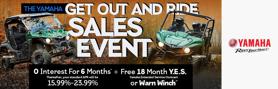 Yamaha: 0 Interest For 6 Months + Free 18 Month Y.E.S.