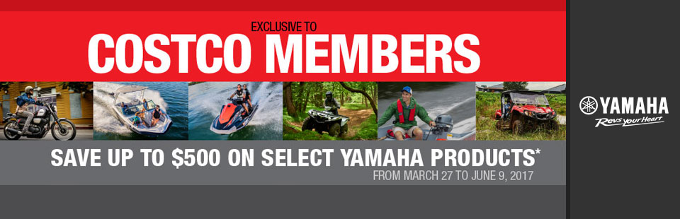 Yamaha: Exclusive to Costco Members