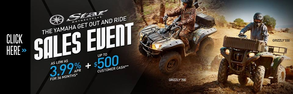 Get Out and Ride Sales Event (Utility ATV)