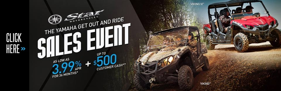 Get Out and Ride Sales Event (Side x Side)
