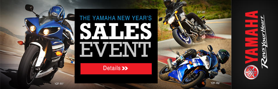 New Year's Sales Event (Sport Motorcycle)