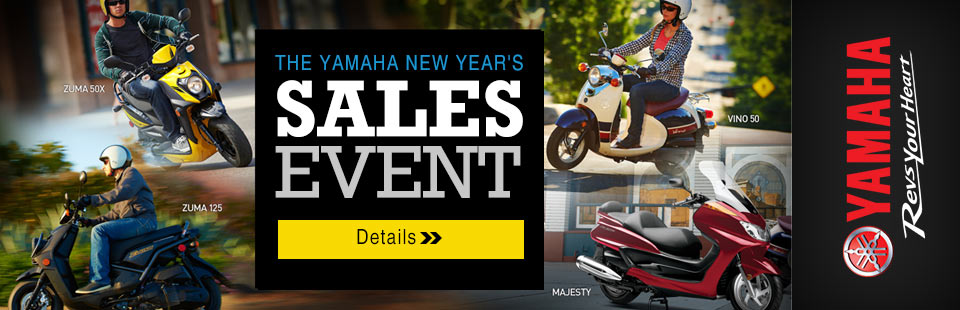 New Year's Sales Event (Scooter)