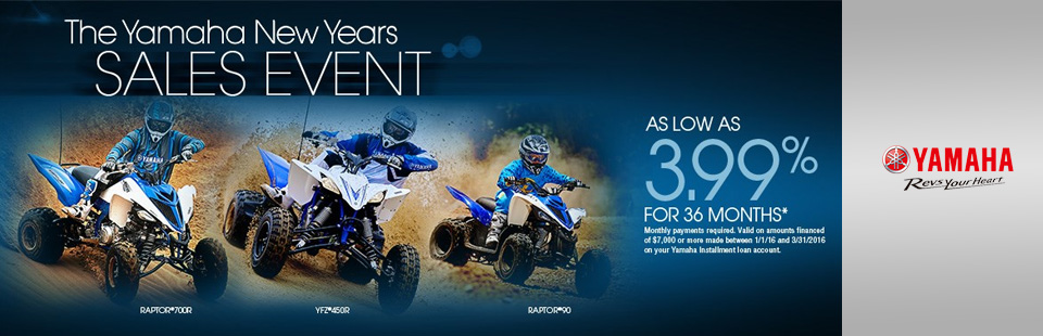 New Years Sales Event (Sport ATV)